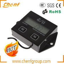 High Quality Newest 5 Digits LCD Tach Hour Meter 12V Working Power With OEM Service