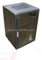 24u network cabinet glass door rack server