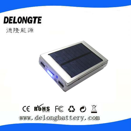 Solar smart power bank 10000mah