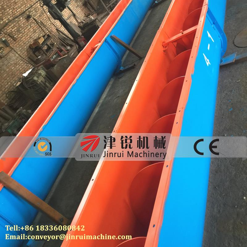 Small Cement spiral conveyor /auger for pellets sale
