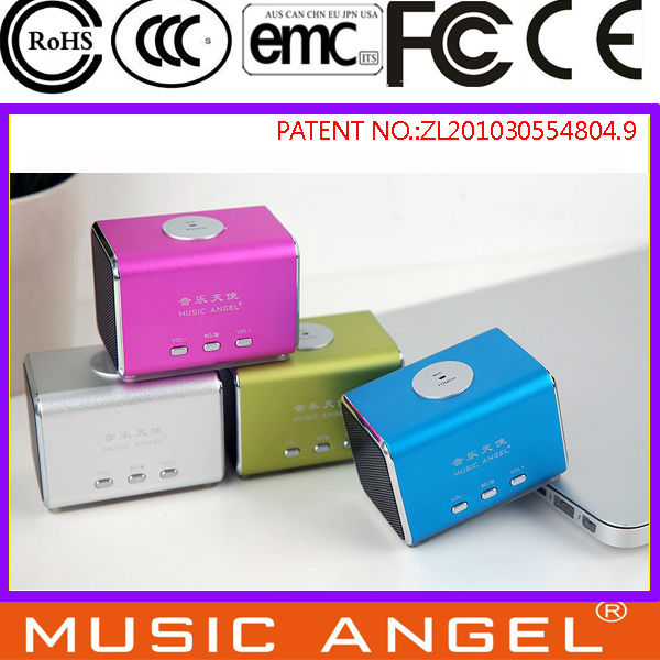MUSIC ANGEL smart PC mini mp3 player with speaker