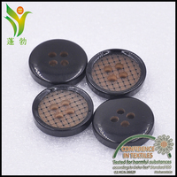 D2608 make laser engraved round resin buttons