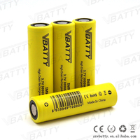 New vbatty 18650 3000mah 40a imr high drain vapor battery 3000mAh capacity battery super power