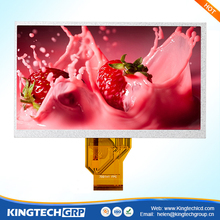 7 inch round thin lcd controller e ink display module
