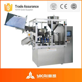 SGF-50 Auto Plastic Tube Filling and Sealing Machine