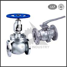 Custom high precision 100mm integral stainless steel flange type gate valve