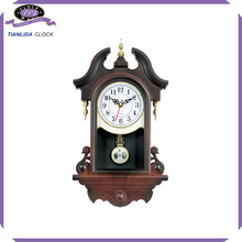 new design plastic pendulum wall clock time clock