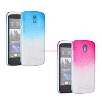For HTC Desire 500 rain drop hard back protective case cover phone accessories