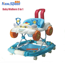 Plastic baby walker parts 8 Swivel Wheels inflatable baby walker 360 Degree Rotating Baby Walker