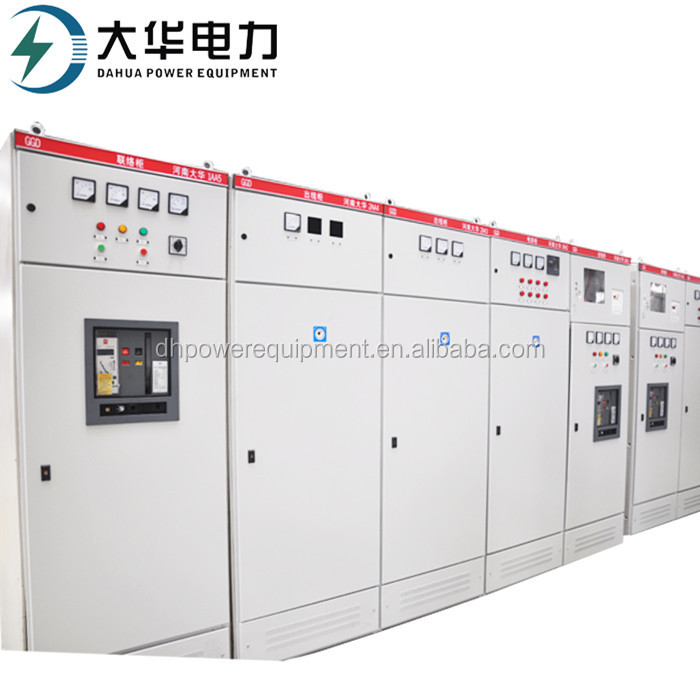 GGD Outdoor Low Voltage IP30 IP40 Switch Cabinet/Electrical Control Metal Box With ISO9001