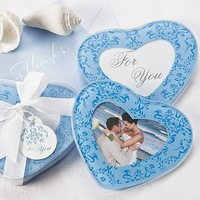 wedding party and gift use factory directly supply wedding glass coaster