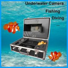 "Full HD 7"" Monitor IP68 Underwater Camera for Sewer Drain Inspection"