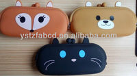 2013 Animal face silicone coin purses with cheap price
