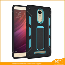 Heavy Duty TPU PC Shockproof Stand Case For Redmi Note 3 Cell Phone Cases