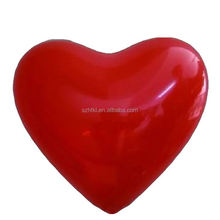 red inflatable heart shape ball as party favor,wedding deoration heart shape ball