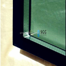 Durable double glazed insulated glass panel