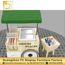 2018 hot sale professional manufacturers fast food outdoor furniture commercial made mobile food kiosk