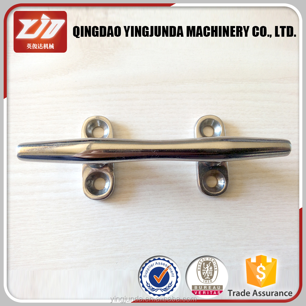 trade insurance stainless steel cleat yacht cleat marine hardware boat cleat supplier