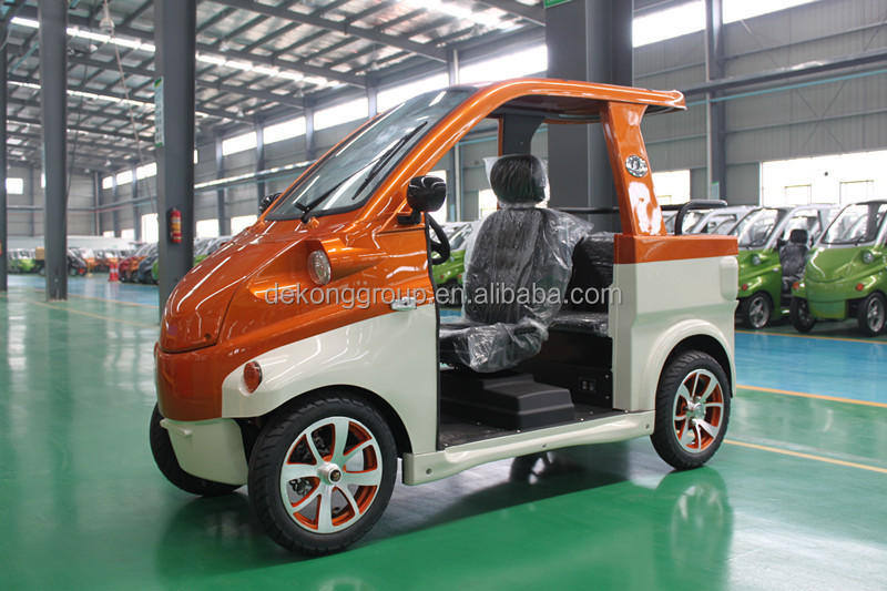 City popular adult mini electric car 2 seats electric mini car for old people