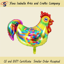 Isabella wholesale inflatable advertising wholesale animal balloon chicken shape foil balloons