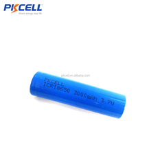 li-ion battery 3.7V ICR 18650 3000mAh lithium rechargeable battery
