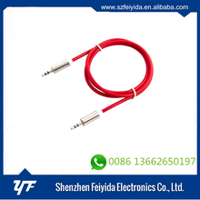 Shenzhen Feiyida 2016 factory price 3.5mm plug 3.5 aux to rca 3.5mm Aux Cable