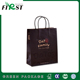 All Black Printed Recycle Shopping Gift Brown Kraft Paper Bag With Handles/food packaging kraft paper bags/clothing packaging