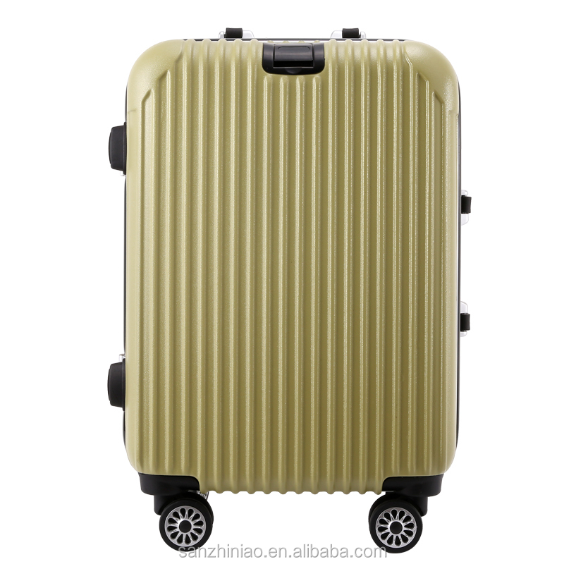Good Quality Colorful Hard Shell Luggage, ABS Spinner Trolley Travel Bag, Customs Factory-made Trolley Case