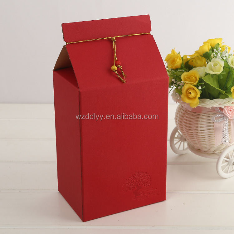 OME Accepted Custom Food Grade Decorative Paper Cake Box For wedding And Birthday