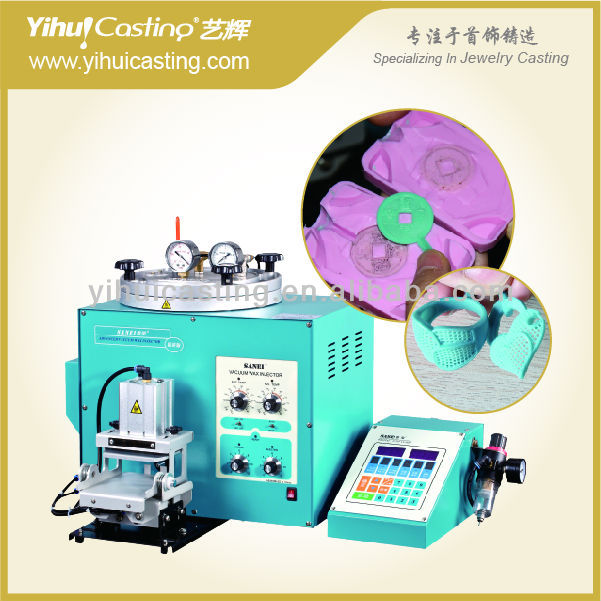 vacuum wax injector wax injection machine for jewelry machinery