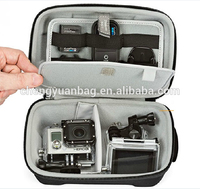 wholesale large size fitted camera cases eva carry bags for gopros heros 3 3+ 2 1