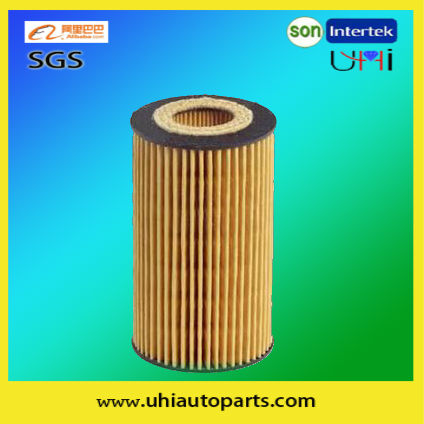 OPEL/RENAULT car Oil Filter E69H-D81 of high filtering performance