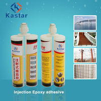 Strong adhesion epoxy granite adhesive for reinforcement rebar embedding