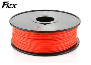 Wholesale 1.75 / 3mm Printing Material TPE Flexible filament for 3d printer 1kg/spool