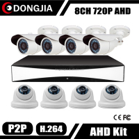 Dongjia CCTV DVR HD Surveillance Kits 16 Camera Security System