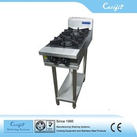Freestanding electric Cooking Equipment 2 burner industrial gas burner/stainless steel gas stove