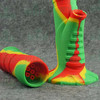 Silicone water pipes silicone bottle for smoking with electronic nail as a prefect kit.