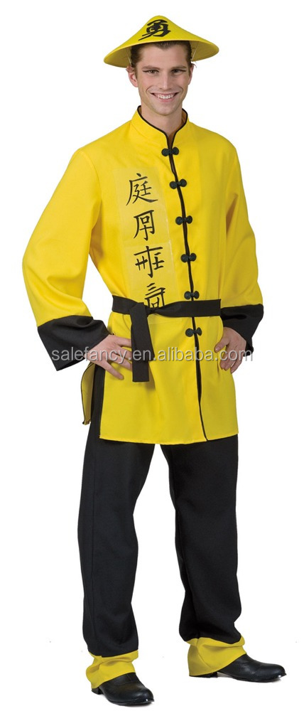 Как сделать костюм китайца своими руками