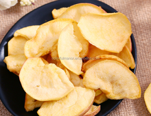 Low Temperature Vacuum Fried apple Chips healthy snacks