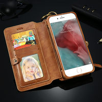 2016 New for IPhone 7 Case Mobile Cell Phone Case,Flip Mobile Phone Case for IPhone 6,Leather Wallet for IPhone 6 Case