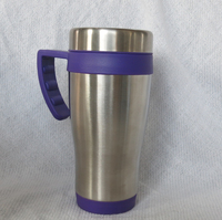 Promotional plastic inner Mugs with handle