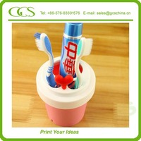 tooth brush holder 4 pcs plastic tissue box holder touch me automatic auto toothpaste dispenser