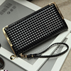 Wholesale trendy shinny PU leather long lady wallet