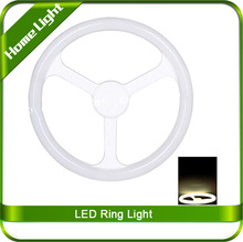 Explosion-proof Round Tube Light Pure White Milky Cove Light ABS LED Circle Ring Lamp