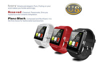 Hottest sale Multi-function bluetooth phone u8 smart watch with good price
