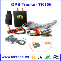 vehicle gps tracker TK106 with fuel calculator analog input camera & temperature monitoring