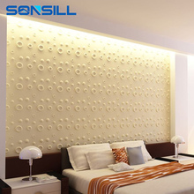 environment 3d pvc wall panel hole covering