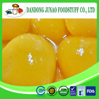 Delicious sweet taste halves wholesale peaches