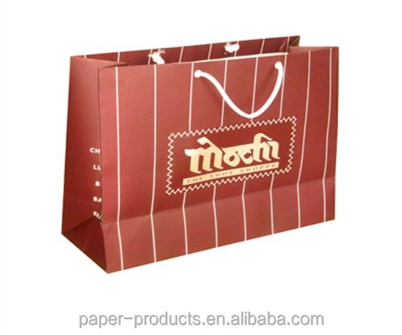 classy handbag shape pape shopping bags/paper gift bags /paper packaging bags