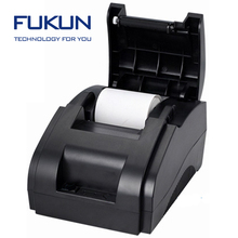 FK-POS58-B Low noise and high stability 58mm thermal paper tablet printer with Parallel/USB port